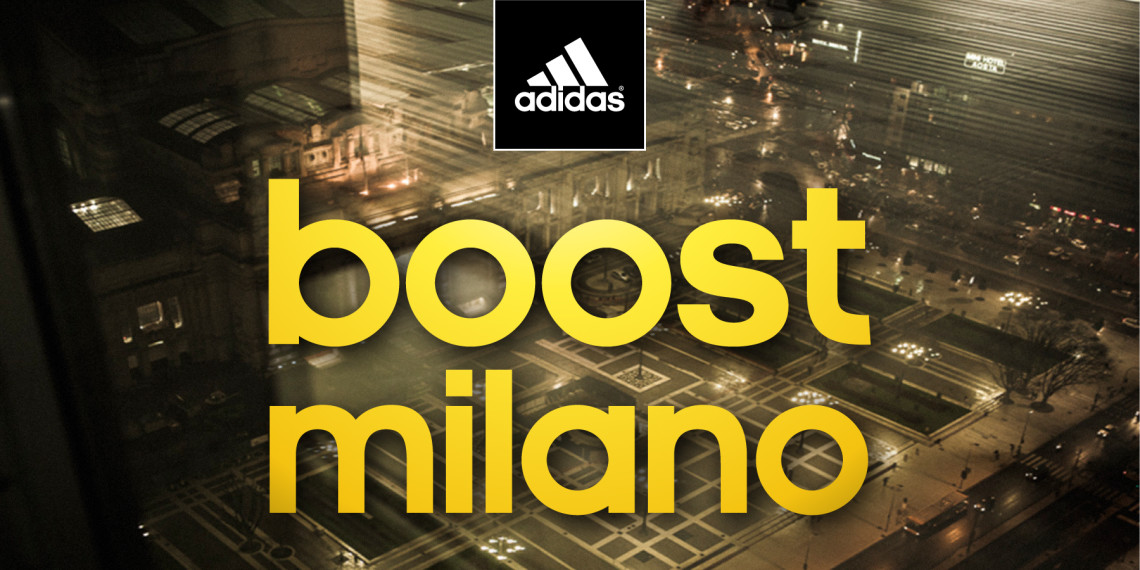 Adidas Boost Milano — GBX Studio — UX design & Art direction by ...